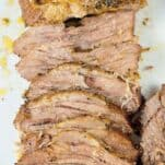 Learn how to cook brisket in the pressure cooker. This Easy Brisket recipe is deliciously flavorful, tender and ready in about an hour and 20 minutes!