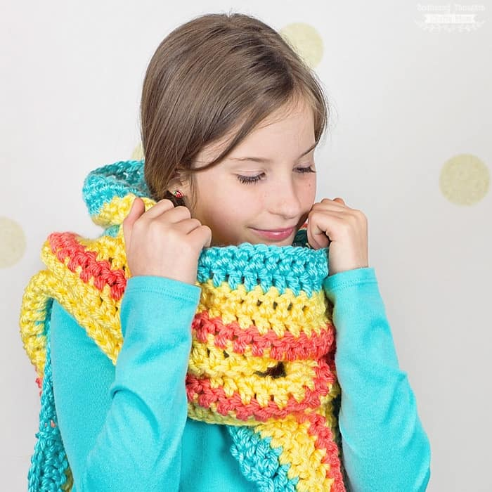 Free Pocket Scarf Crochet Pattern