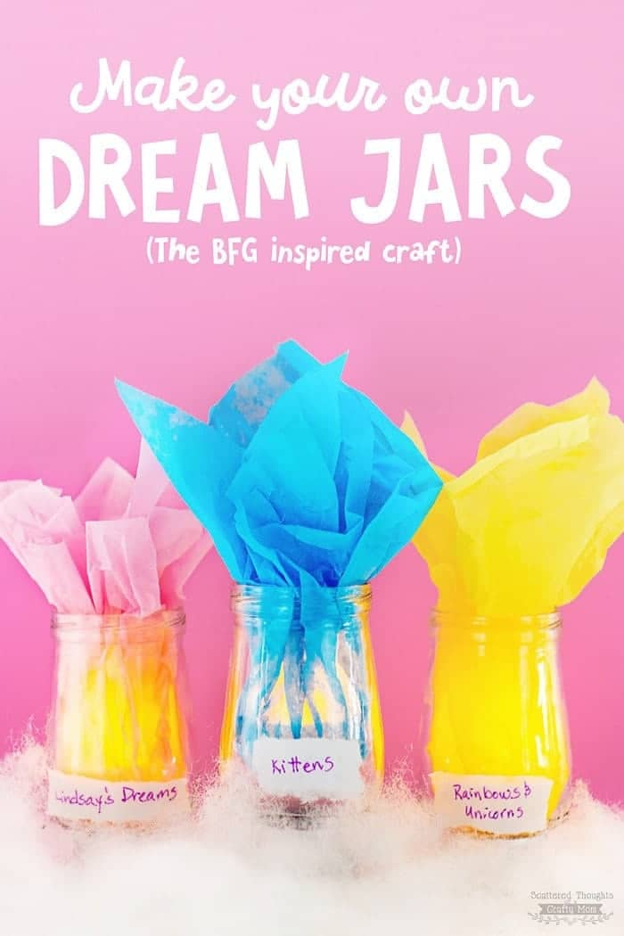 How To Make Dream Jars Bfg Inspired Kid S Craft