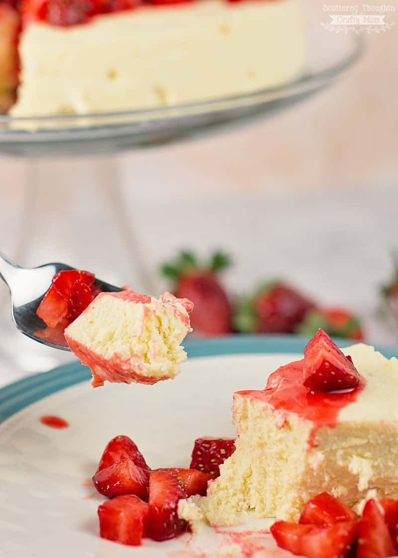 Sugar free crustless cheesecake Recipe for the Pressure Cooker