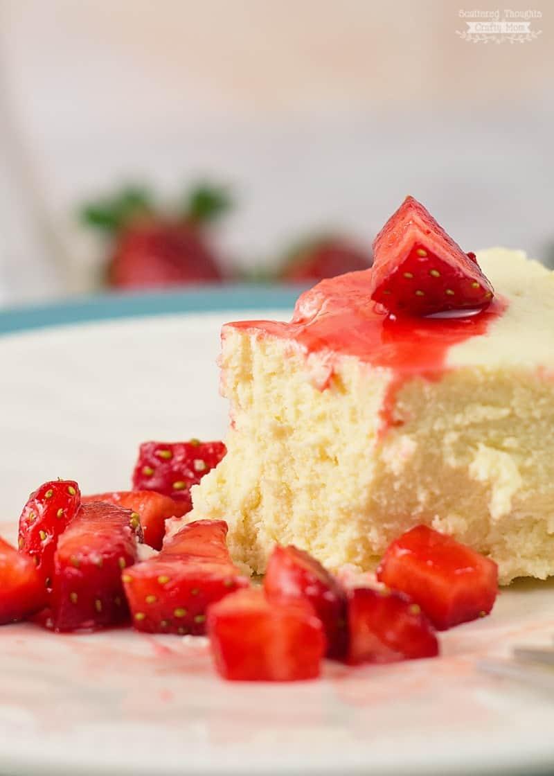 Sugar Free Crustless cheesecake recipe