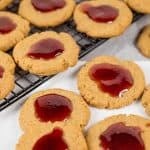 Flourless Peanut Butter and Jelly Breakfast Cookies (low sugar)