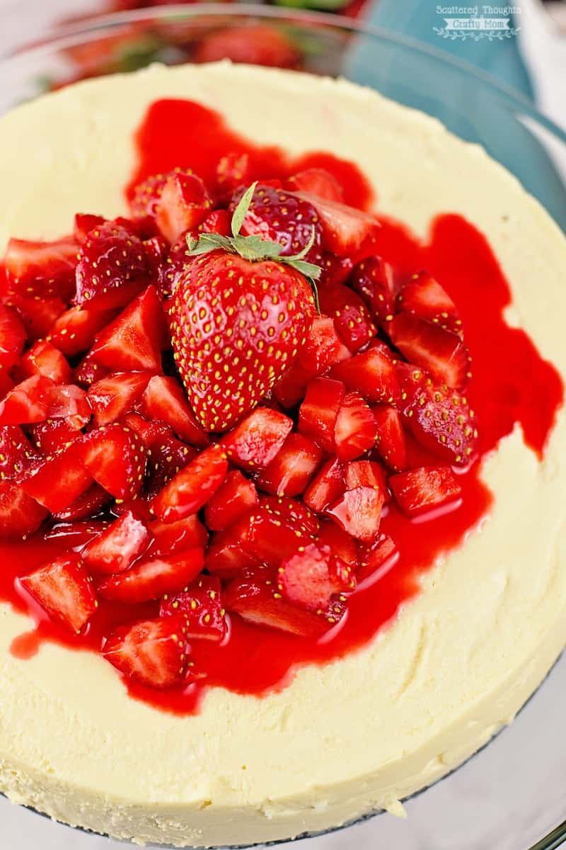 Low Carb Cheesecake in the Pressure Cooker