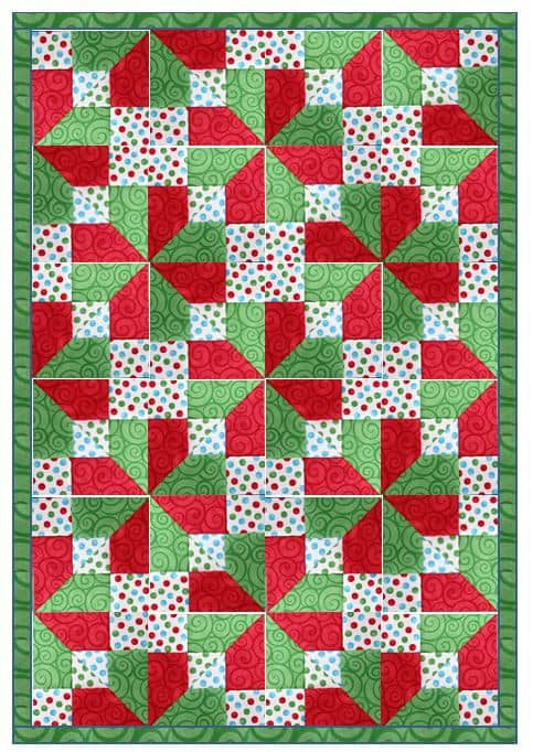 45 Free Easy Quilt Patterns - Perfect for Beginners - Scattered ... : patchwork quilt designs for beginners - Adamdwight.com