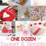Sweet and Simple Valentines Crafts