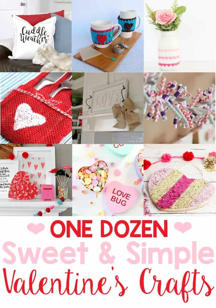 Collection of Sweet and Simple Valentines Crafts