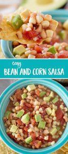 Easy Bean and Corn Salsa