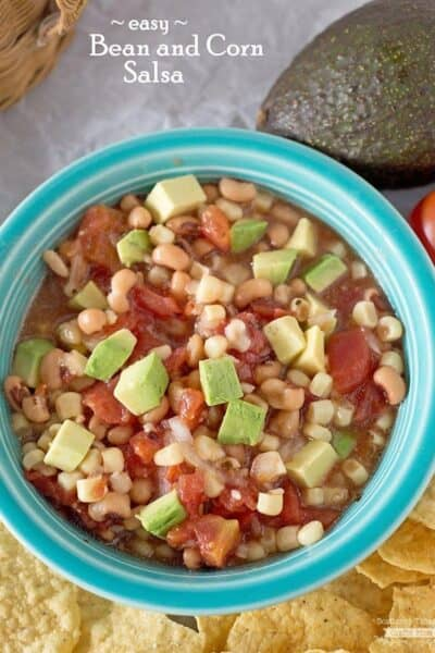 Easy Bean and Corn Salsa