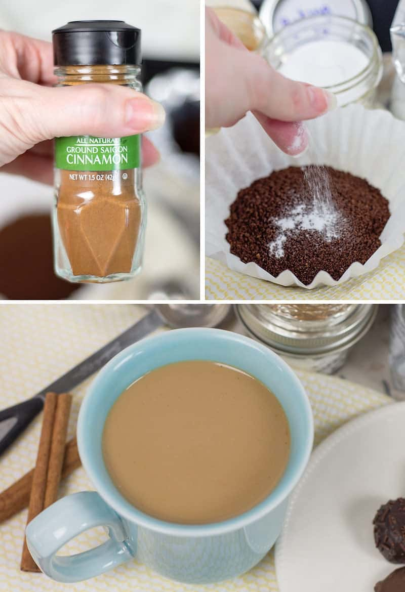 You have to try this amazing 2-ingredient coffee hack! These two simple pantry staples will elevate any brewed coffee to the most smooth and delicious pot ever. Try it - you'll never brew your coffee again without using this trick!