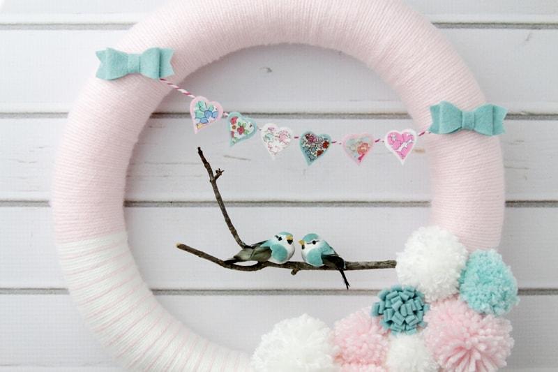 Love Bird Wreath