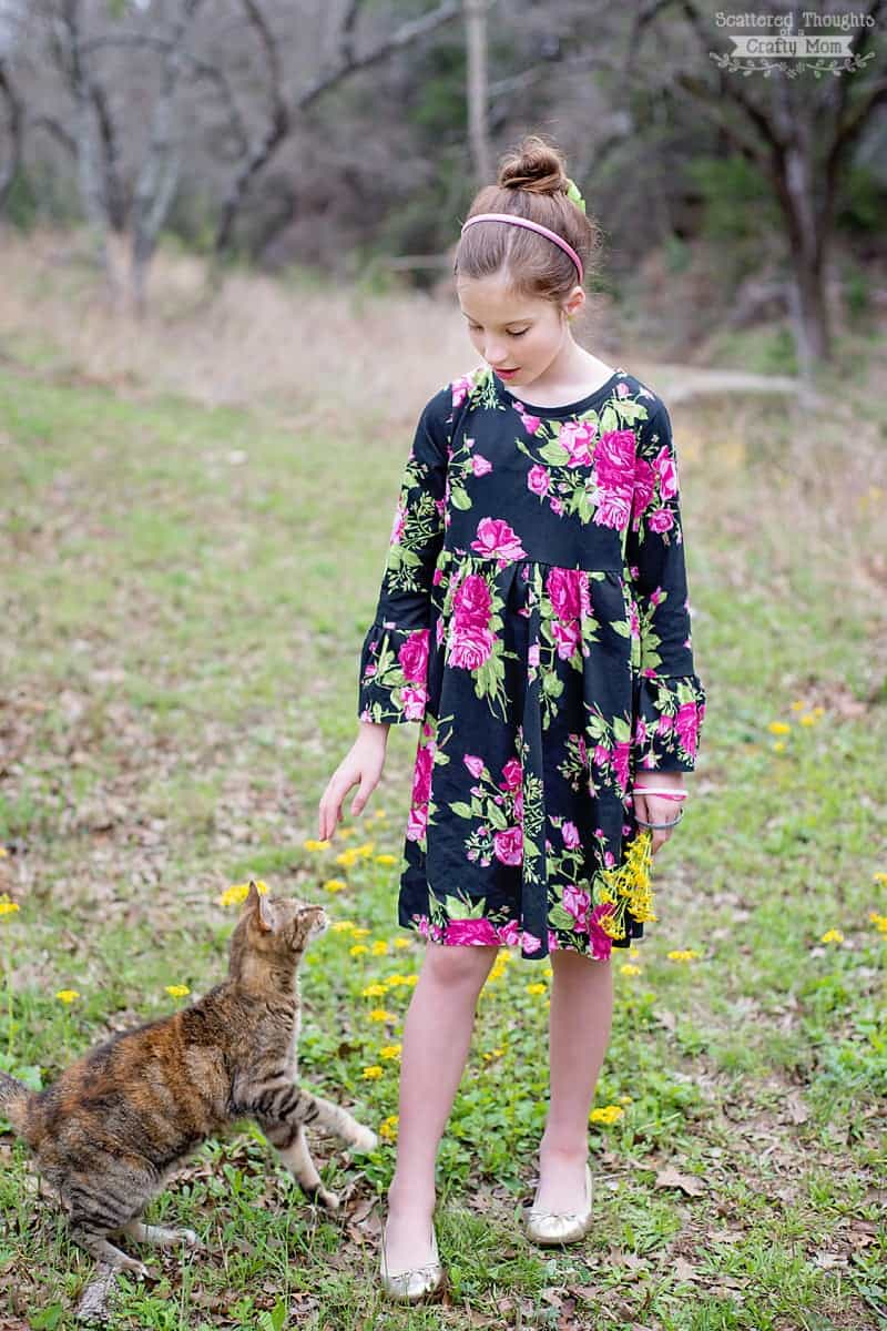 Free T-Shirt Dress Sewing Pattern