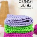 DIY Reusable Cleaning Cloths