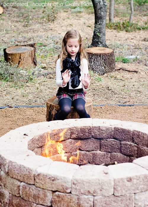 How to build a firepit, DIY firepit