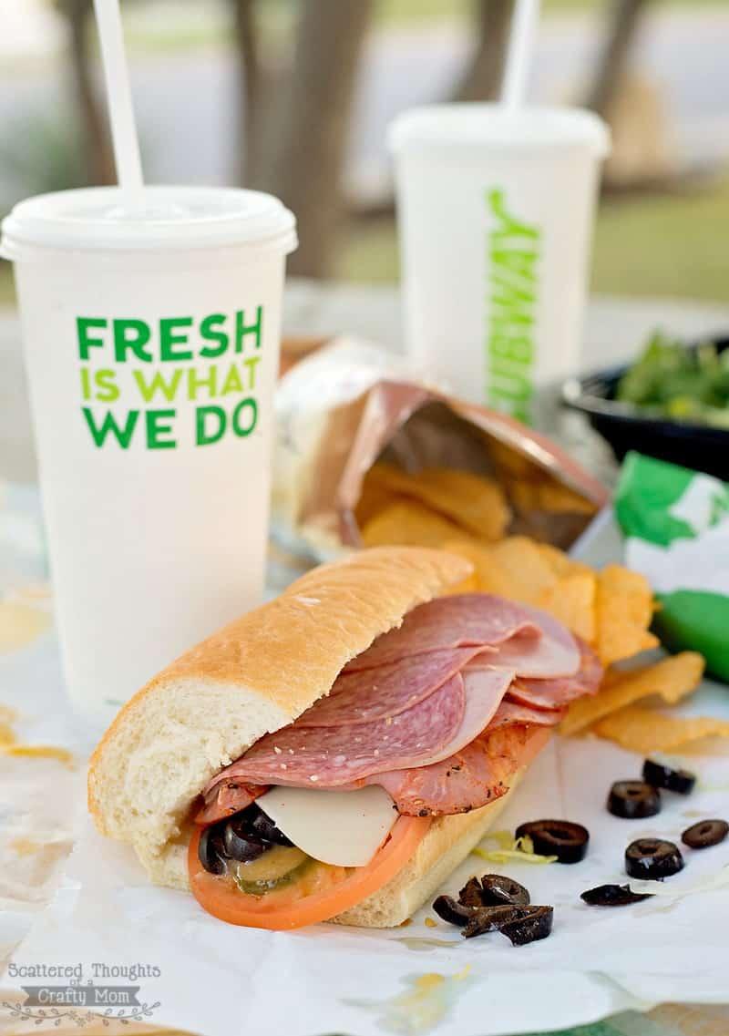 Subway's Italian Hero Sandwich