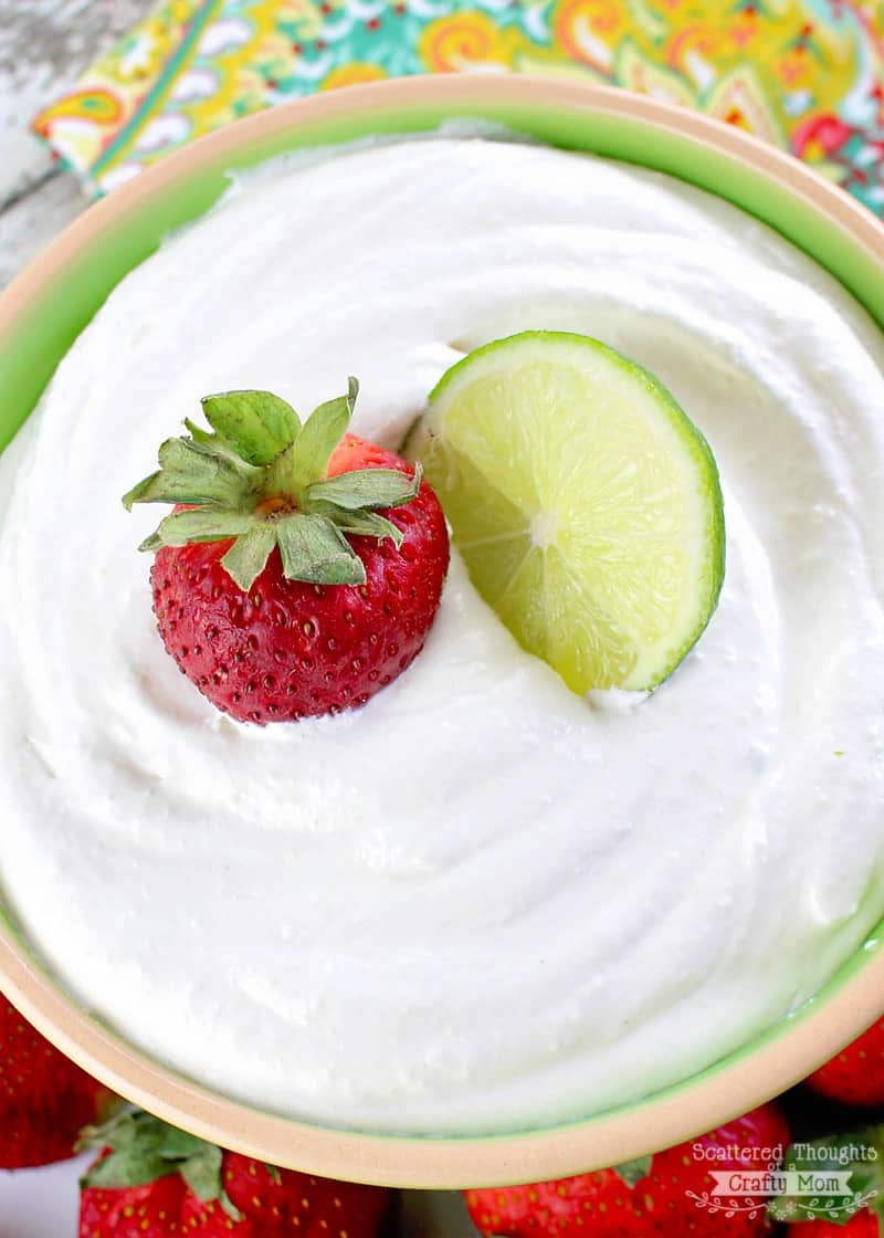 Margarita Fruit Dip