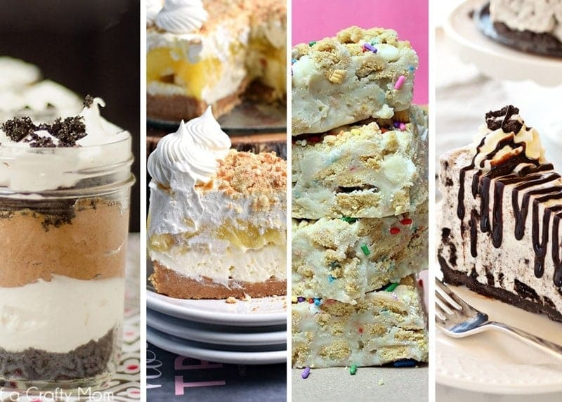 Delicious No Bake Desserts to Satisfy your Sweet-Tooth w/out turning on the Oven