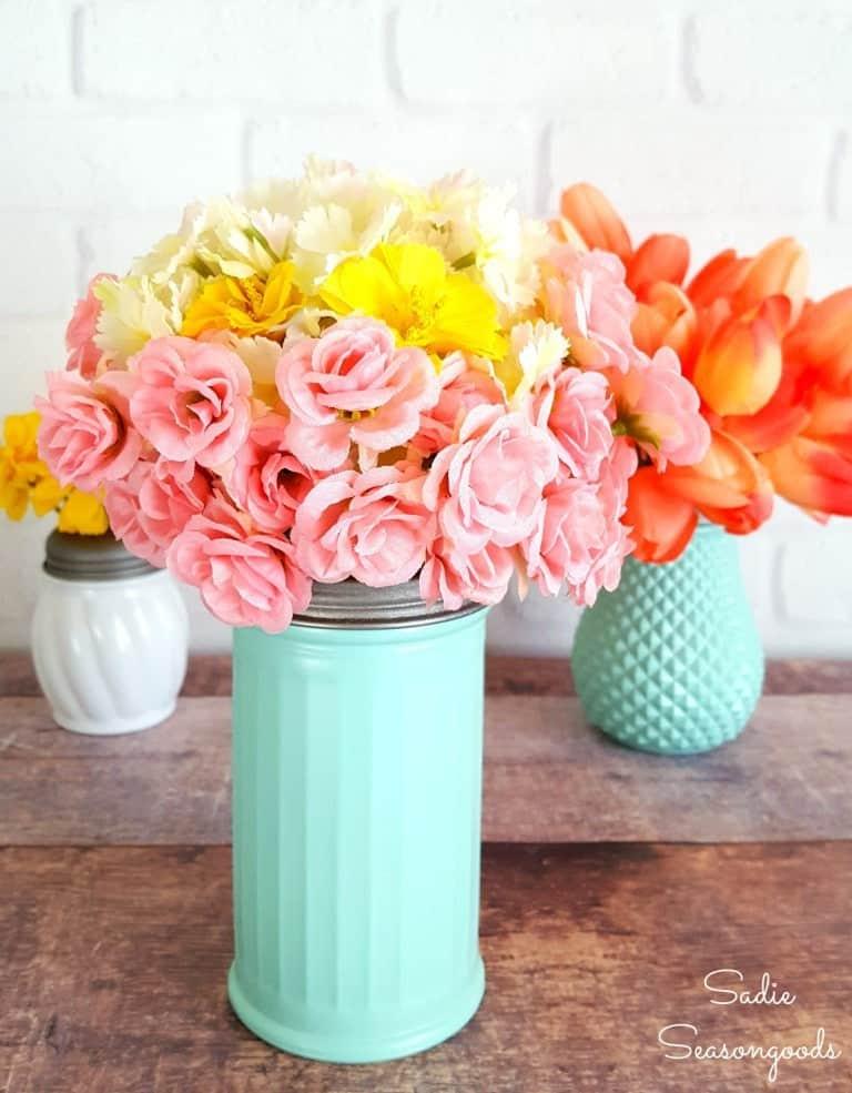 Sugar Shaker Vases