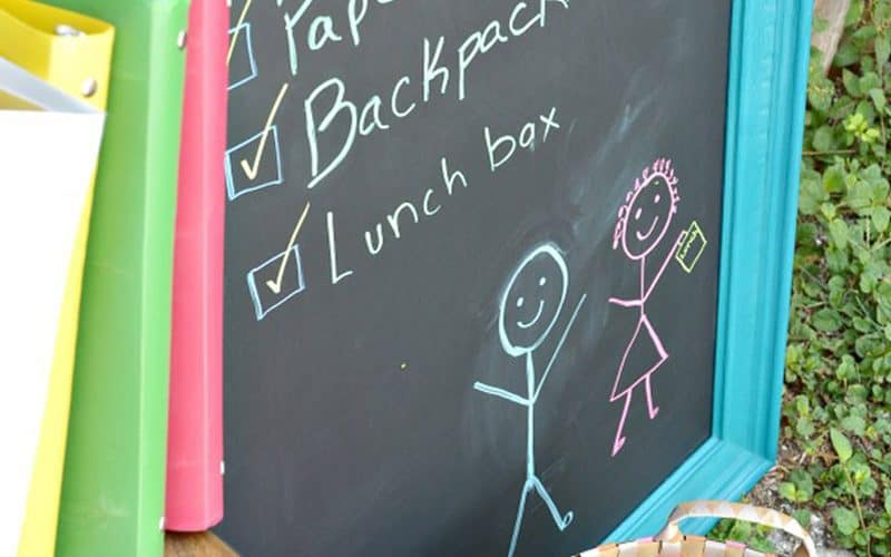 Easy DIY Chalkboard, features + Inspiration Monday