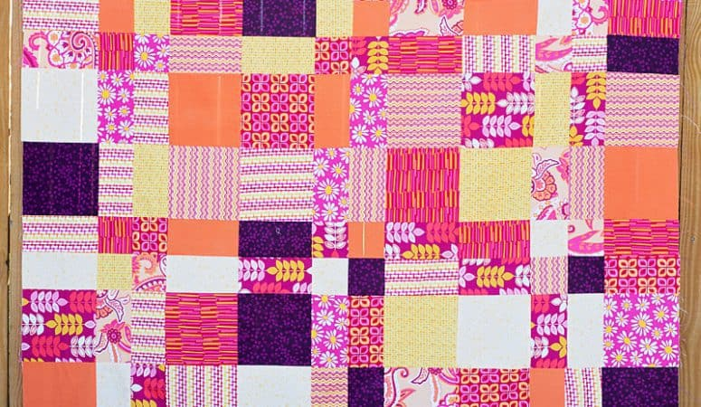 Easy Quilt Project + Fabric Giveaway (6.25 yards!)