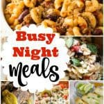 Busy Weeknight Meal Ideas