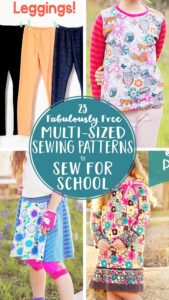 35+ Free PDF Sewing Patterns Perfect for School
