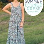 Easy Breezy Summer Lounge Dress Pattern and Tutorial