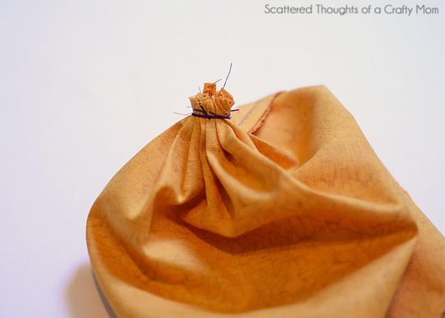 free fabric pumpkin tutorial