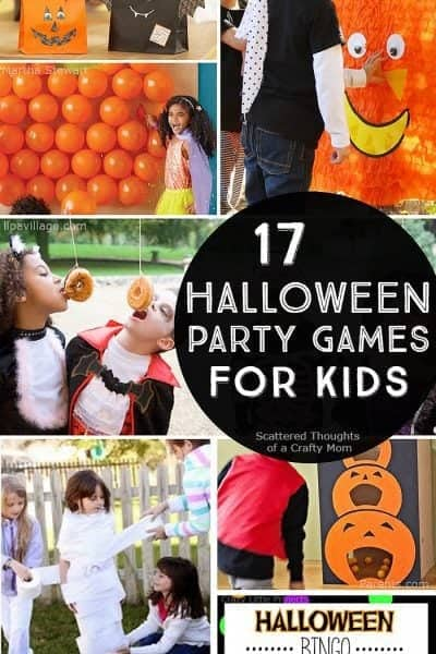 Planning a Halloween Party? Time to crank the fun with these 17 Halloween Party Games for Kids.