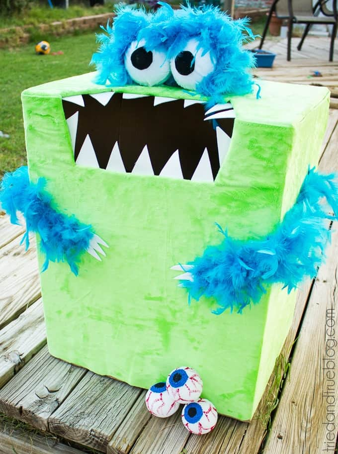 feed the monster halloween game halloween party games for kids