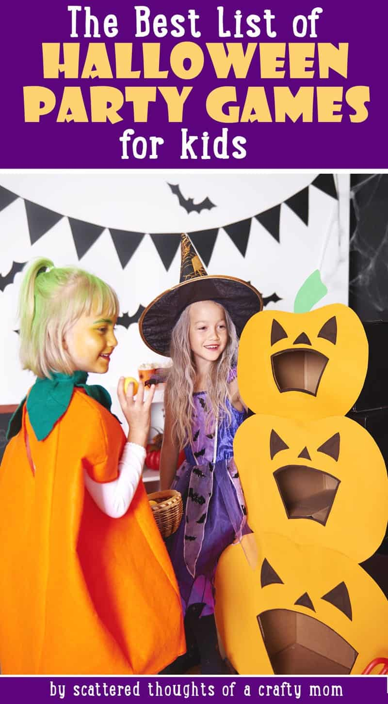 time to crank the fun up a few notches with these 22 amazing and crowd pleasing creative halloween party games for kids