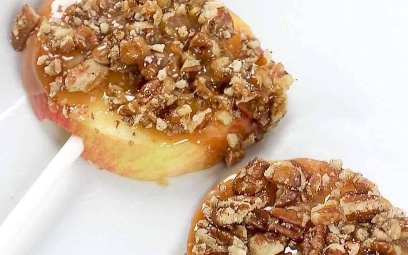 Easy Caramel Pecan Apple Slices