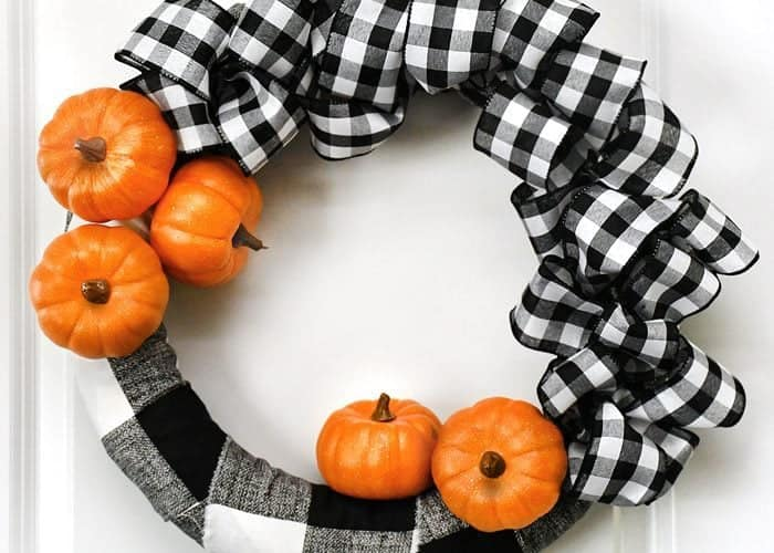 6 Gorgeous Wreaths for Fall + Inspiration Monday