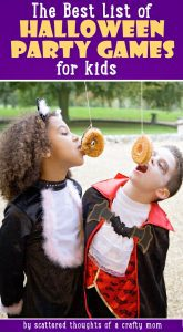 fun halloween party games for kids