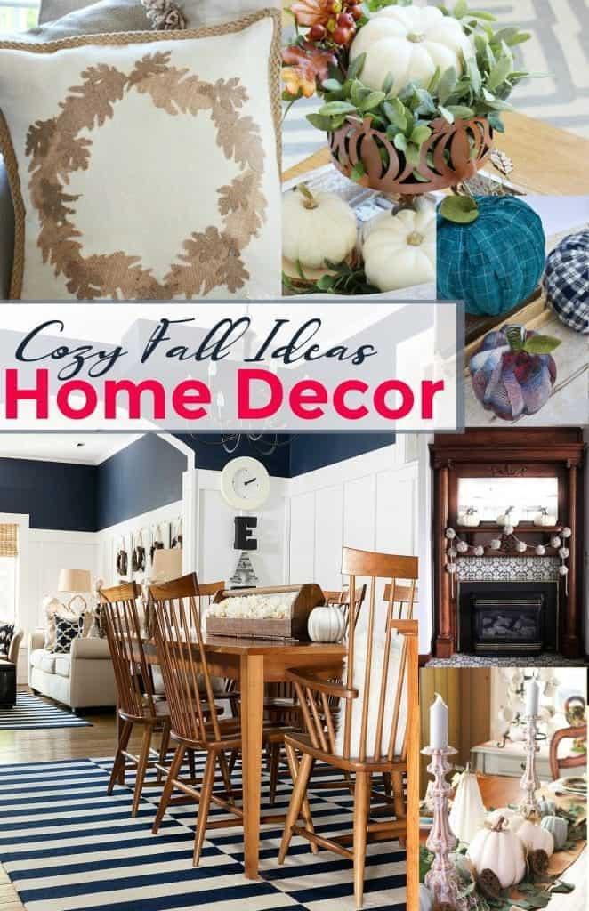 Cozy Fall Home Decor Ideas
