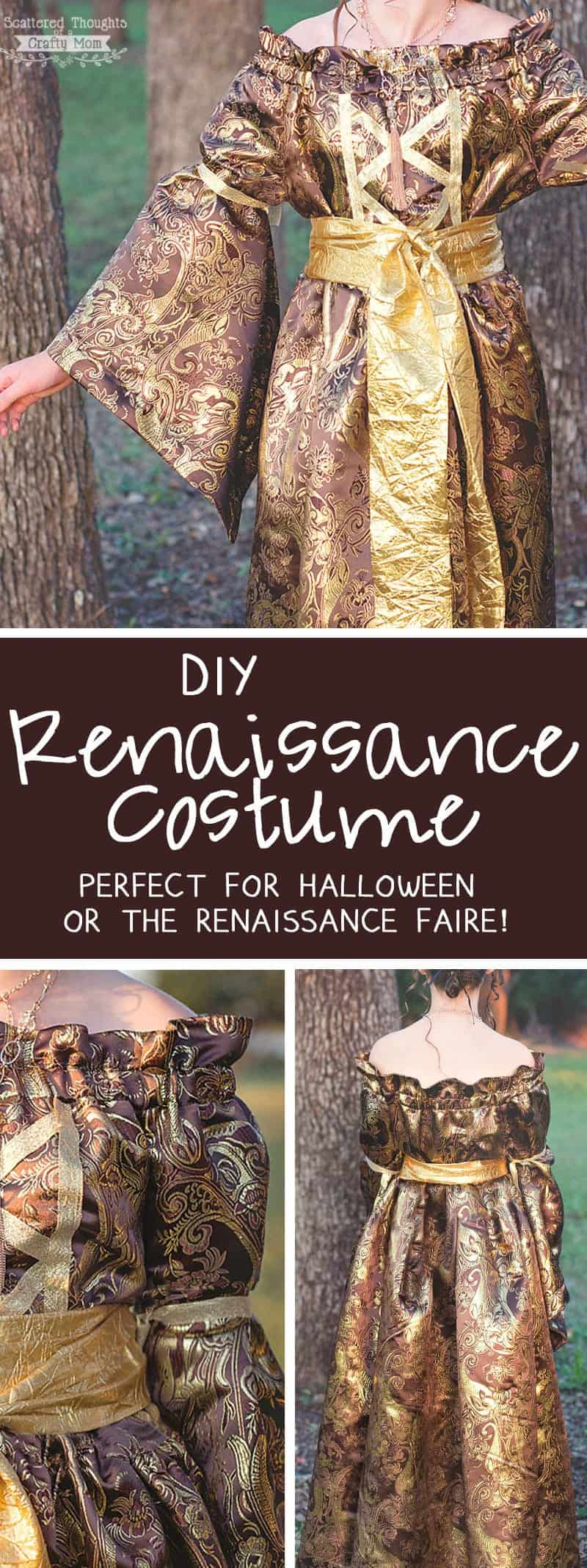 Medieval Princess Halloween Costume (DIY Renaissance Dress)