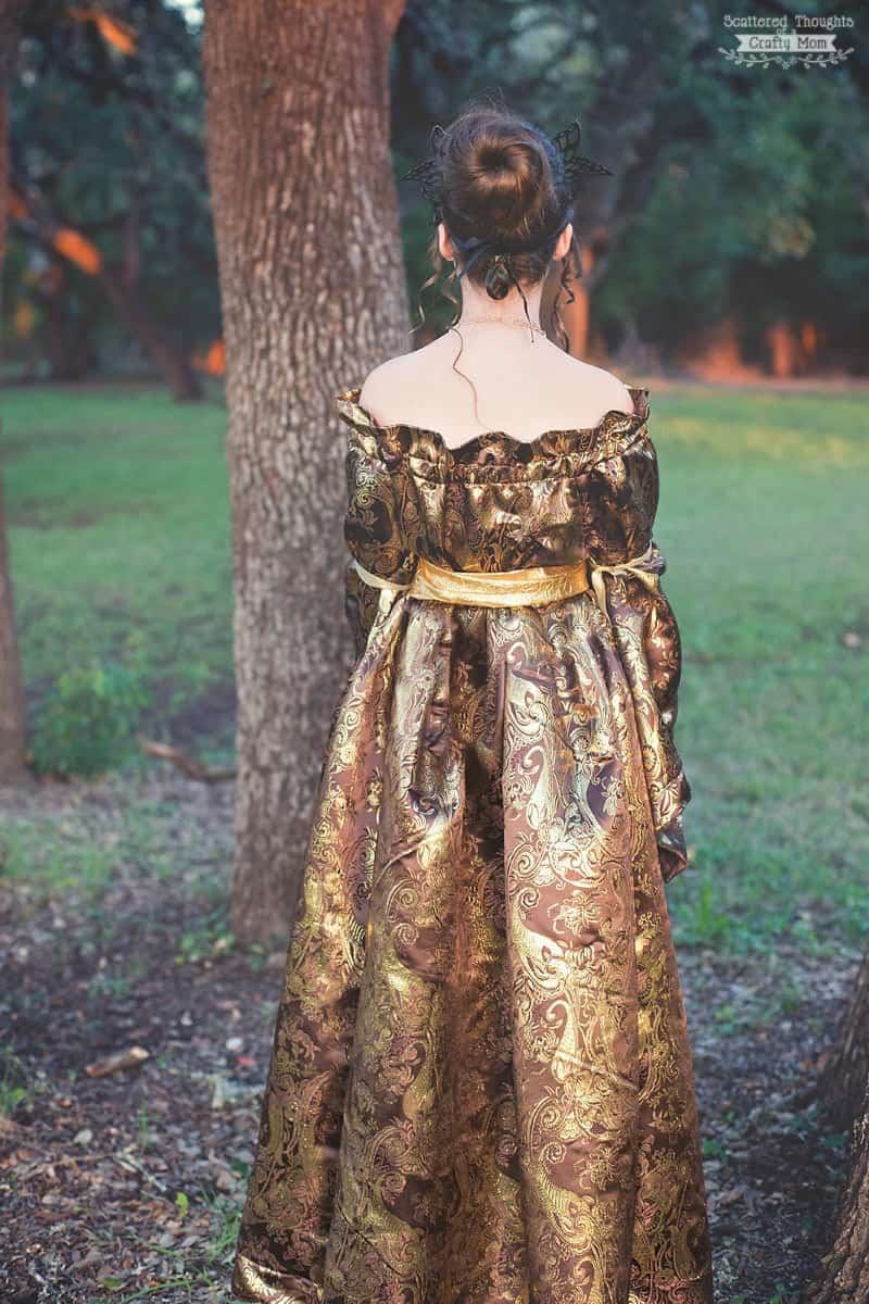 Medieval Princess Costume for Halloween - Scattered ...