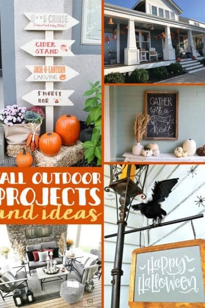 Fall Outdoor Projects