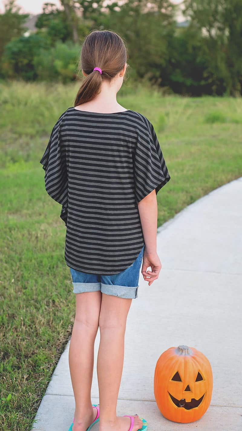 Free Circle Top Pattern for girls, sz 3 to 12