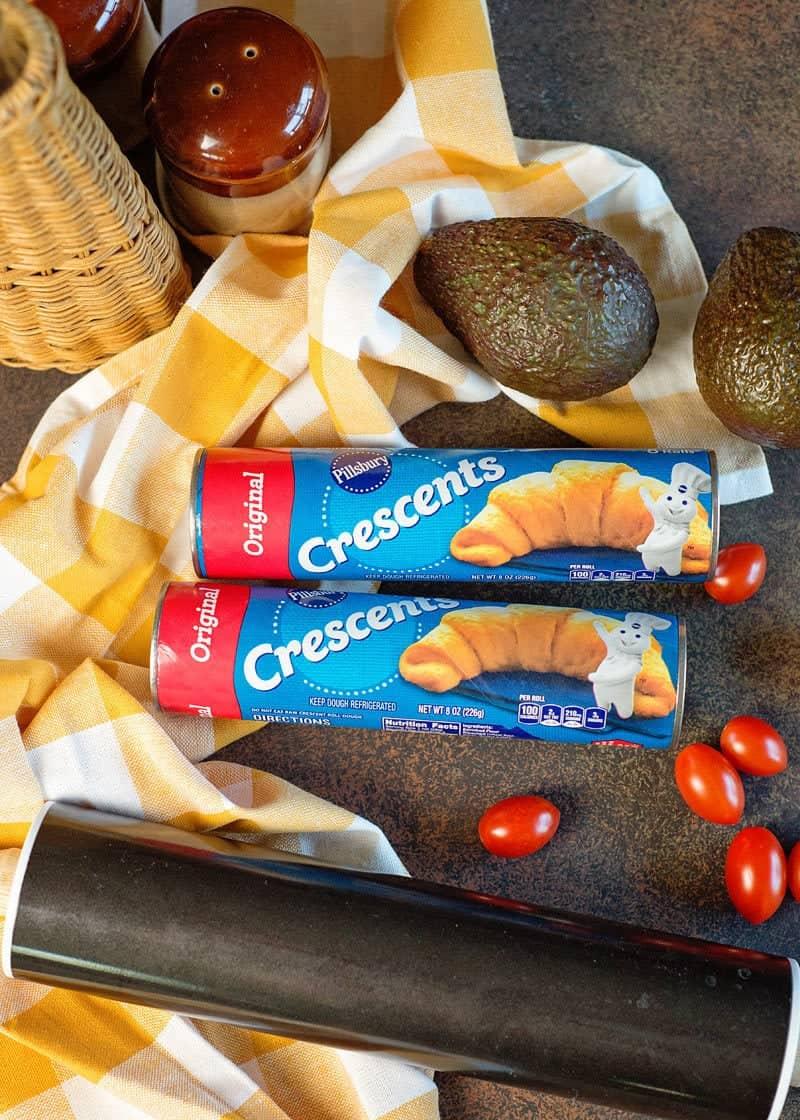 recipe using CrescentRolls