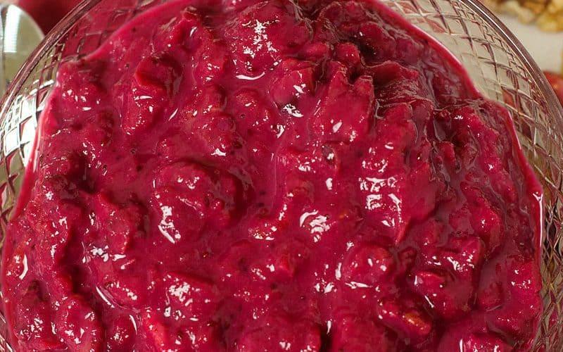 Sugar Free Low Carb Cranberry Sauce