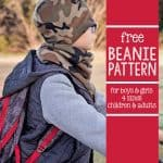 Free Beanie Hat Pattern (4 sizes)