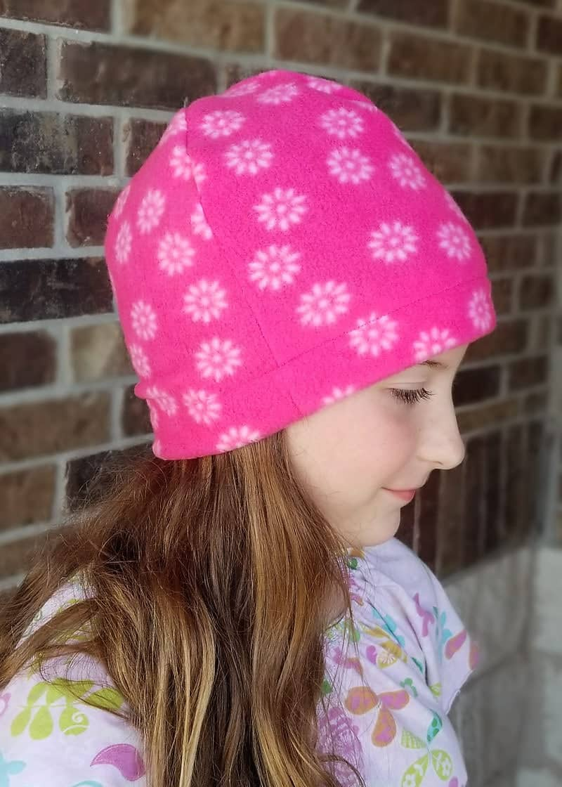 It s a great basic pattern for making a fleece hat. (I ve already made one  for myself 27f966737d1
