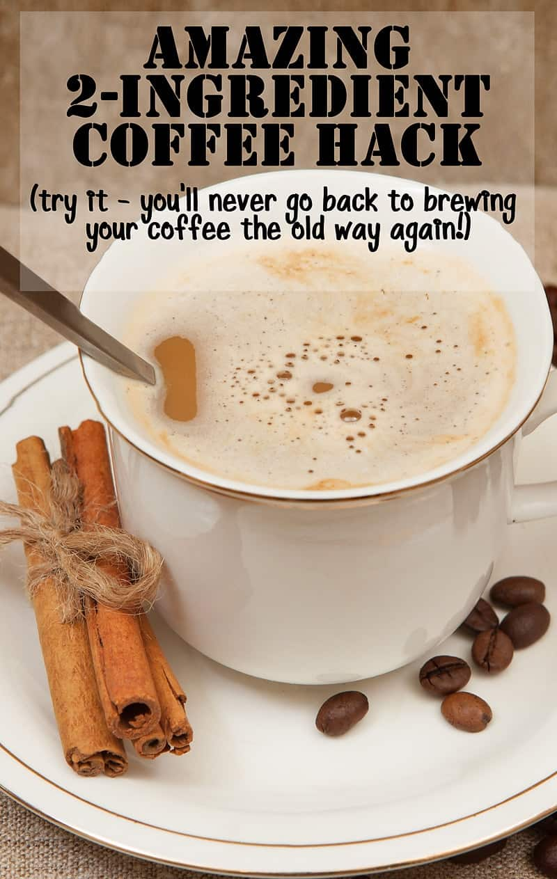 2 Ingredient Coffee Hack You Won't Believe