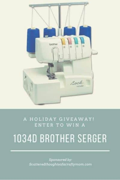 Enter to win this 1034d Brother Serger