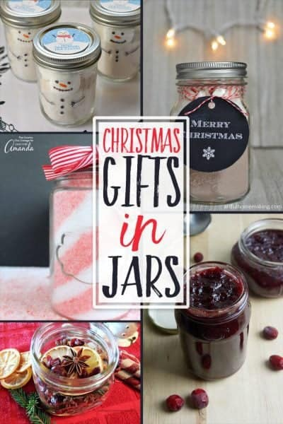 Easy Christmas Gifts in a Jar + Inspiration Monday