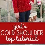 Cold Shoulder Top Tutorial