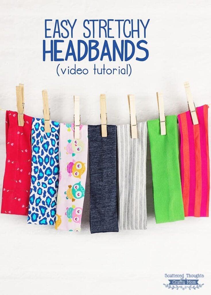 how to make a stretchy headband