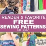 Best Free Sewing Patterns of 2017