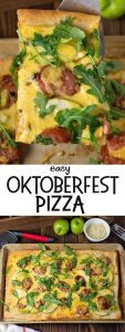 Easy Oktoberfest Pizza