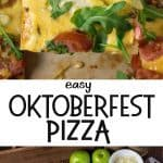 Easy Oktoberfest Pizza